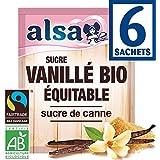 alsa Sucre vanillé au sucre de canne, certifié AB - ( Prix Unitaire ) - Envoi Rapide Et Soignée