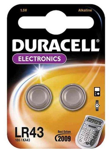DURACELL Lot de 5 Piles bouton Alcaline \