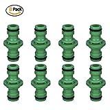 langpin 8Pcs Double Schlauch Stecker Extender, 1/5,1cm Garten Rohr Quick Stecker/Verschweißer/Tischler