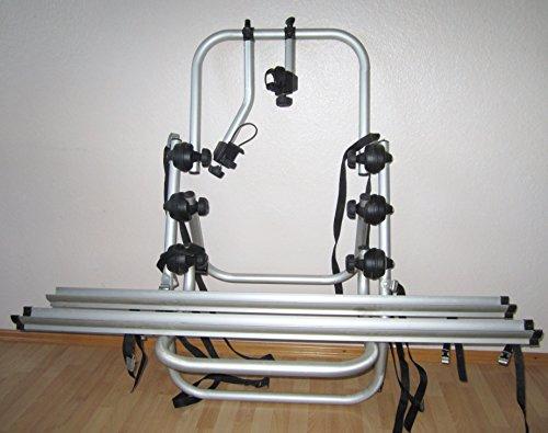 Fabbri Portatutto 6201800 Bici Ok 2 Portabiciclette Posteriore per Trasportare 2 Biciclette