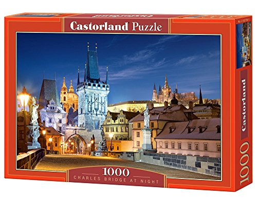 Preisvergleich Produktbild Castorland C-102754-2 - Charles Bridge At Night, 1000-teilig, Klassische Puzzle