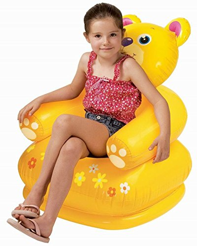 Intex Inflatable Cute Bear, Teddy, Dog Chair  available at amazon for Rs.431