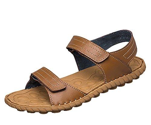 Insun Hommes Sandales Ouvertes Chaussures De Randonnée Marron