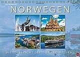 Norwegen Die idyllische Seite Skandinaviens (Tischkalender 2016 DIN A5 quer): Malerische Seiten Skandinaviens: Norwegen (Monatskalender, 14 Seiten) (CALVENDO Orte)