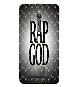 PrintDhaba Title D-4999 Back Case Cover for ASUS ZENFONE 2 (Multi-Coloured)