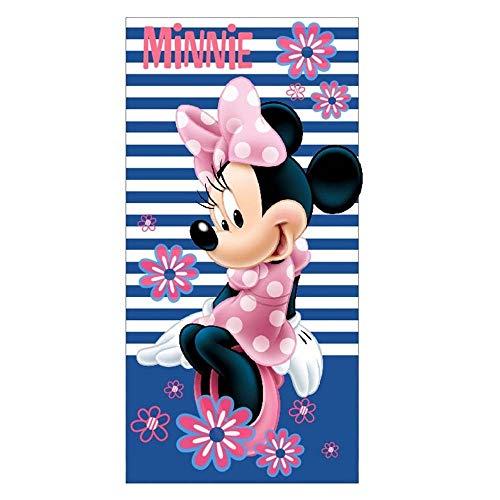 Minnie Serviette de Plage Fille - BLEU