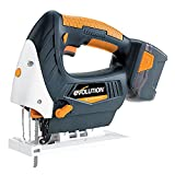 Evolution RAGE7 Li-Ion Jigsaw with Battery and Charger (18V)