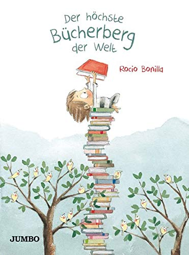 Buchseite und Rezensionen zu 'Der höchste Bücherberg der Welt' von Rocio Bonilla