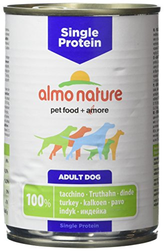 ALMO NATURE Simple Protein chien 100% dinde 400g Aliments grain libre chien