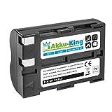 Akku-King Akku ersetzt Nikon EN-EL3, EN-EL3a Li-Ion 1600 mAh - für D100, D100 SLR, D50, D70, D70s