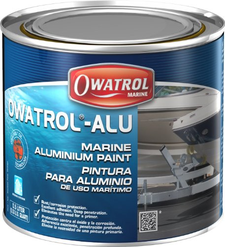 Owatrol - MARINE ALU - Aluminium- Schutzlack - 0,5 Liter (Versiegelt-bereich Edelstahl)