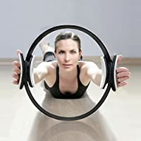 Aro de Pilates Elite Para Resistencia y Fortalecimiento Muscular PhysioRoom - Anillo Fitness de Gimnasia Yoga con Agarraderas Acolchadas - Cosmética y perfumes - Comparador de precios