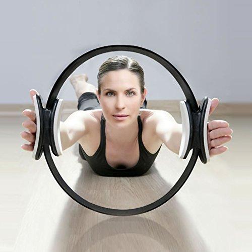Aro de Pilates Elite Para Resistencia y Fortalecimiento Muscular PhysioRoom...