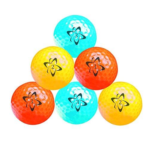 Longridge BLCR6N - Bolas de golf estándar