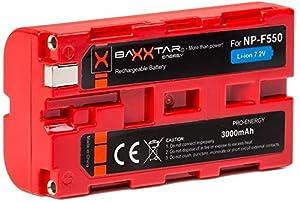 Baxxtar Akku NP-F970 NP-F990 NP-F550