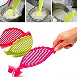 Multifunctional Spoon Rice Washer Filter Strainer Colanders Kitchen Device (4)