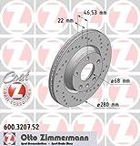 Bremsscheibe SPORT-BREMSSCHEIBE COAT Z - Zimmermann 600.3207.52