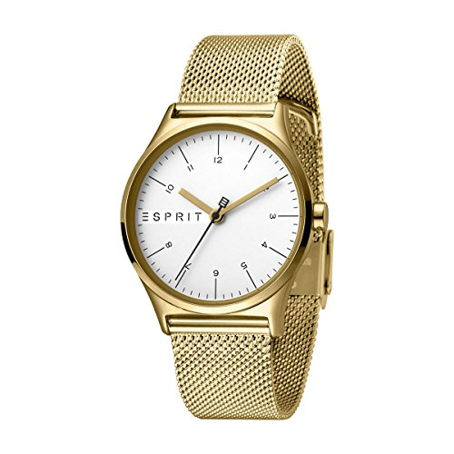 Esprit Womens Analogue Quartz Watch with Stainless Steel Strap ES1L034M0075