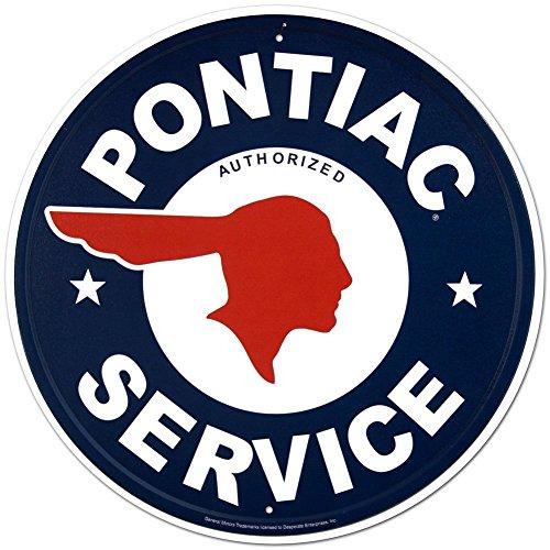 pontiac-service-round-metal-sign