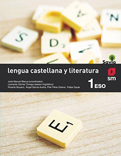 Lengua castellana y literatura. 1 ESO. Savia - 9788467575934