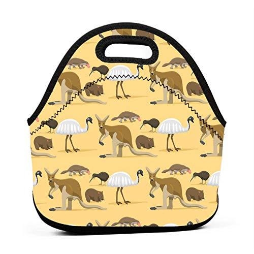 Lunchboxen für Kinder, Australien, Wildtiere, Lunchboxen für Mädchen, Lunchbox, Erwachsene, kleine Frauen, Lunchbox für Camping, Reisen