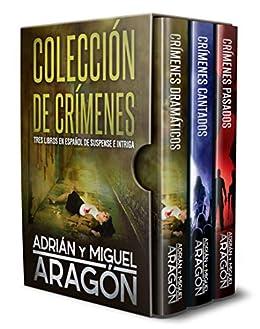 Colección de Crímenes: Tres libros en español de suspense e ...