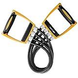 Gold Coast Brust Expander mit 4 Latex-Widerstandsbändern - 4