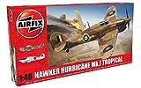 Airfix- Hawker Hurricane MK.I Tropical Avión de Juguete, Multicolor, 200 x 255 cm (Hornby Hobbies 2019 A05129)