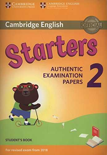 Cambridge English Young Learners 2 for Revised Exam from 2018 Starters Student's Book (Cambridge Young Learners Engli) por Not available