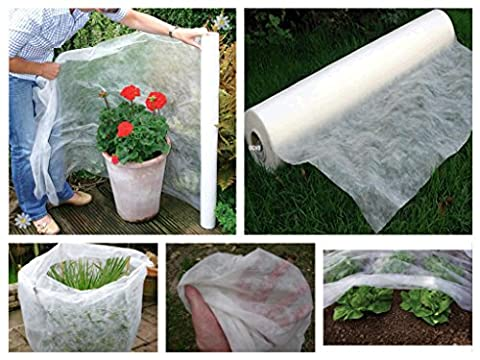 10M x 3.2M Frost & Insect Protection Sheet Roll Garden