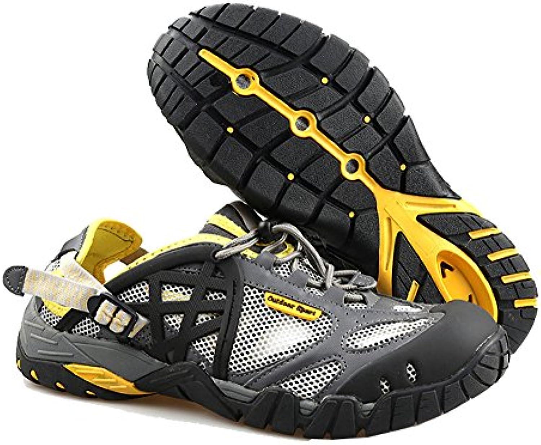 GTKC Männer Frauen Mesh Atmungsaktiv Waten Schuhe Wander Schuhe Wasser Schuhe Wasserdicht Schuhe