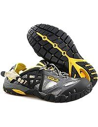 GTKC Männer Frauen Mesh Atmungsaktiv Waten Schuhe Wander Schuhe Wasser Schuhe Wasserdicht Schuhe Männer Farbe 1 45