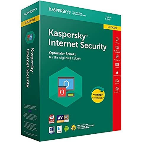 Kaspersky Internet Security 2018 Upgrade | 1 Gerät | 1 Jahr | Download