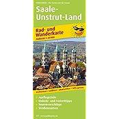 Saale-Unstrut-Land: Rad- und Wanderkarte mit Ausflugszielen, Einkehr- & Freizeittipps sowie Nebenkarte Ziegelrodaer Forst und Querfurt, ... reissfest, abwischbar, GPS-genau. 1:50000