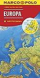 MARCO POLO Länderkarte Europa, physisch 1:2 500 000 (MARCO POLO Länderkarten)