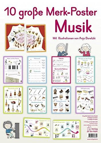 10 große Merk-Poster Musik