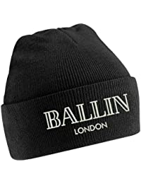 TTC Ballin London Black Beanie Hat