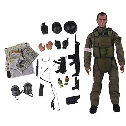 1:6 Mini Sanitäter Medic Armee Action Figur Soldat Figur Spielzeug