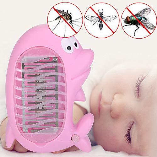 DIKHBJWQ Elektrische Light Fliegenwanze Tischlampe Moskito-Insektenvernichter Nachtlicht Lichtfallenlampe Schädlingsbekämpfung Solar Lichterkette Außren -