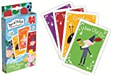 El pequeño reino de Ben y Holly - Baraja de cartas gigantes con 4 juegos (Jumbo 17545) (a partir de 3 años)