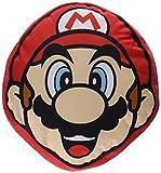 Super Mario Stofftier Plüschtier Kuscheltier Kissen: Mario (32 x 30 x 8 cm) LBT