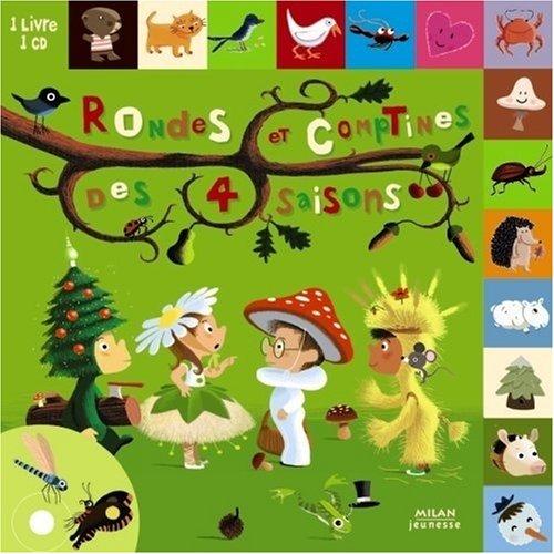 Rondes et comptines des 4 saisons (1CD audio)