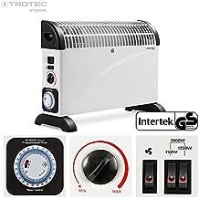Trotec1410000515 - Termoconvettore TCH 22 E, stufa radiatore elettrico riscaldamento elettrico di riscaldamento, con Turbo ventilatore e 24 St. Timer