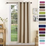 Best Home Fashion Curtain Rods - Blackout Curtain Eyelet Window Treatments - PONY DANCE Review