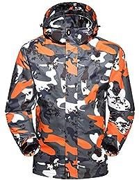 Amazon.it  Arancione - Giacche e cappotti   Uomo  Abbigliamento f440bbf2f8ac