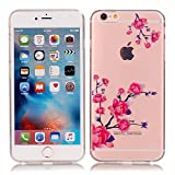 UCMDA Coque iPhone Se, Ultra Mince Silicone Transparent Housse [Exact Fit] Souple...