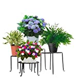 #8: Trust Basket Aesthetic Planter Stands (Set Of 4)