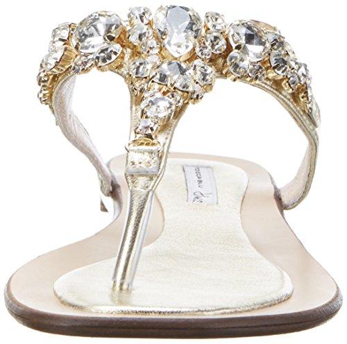 Tosca Blu Damen Mai Tai Sandalen Gold (Oro)