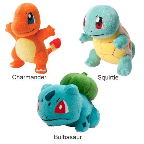 Pokémon T18536 - Peluche Pokemon, 20 cm, modelos surtidos
