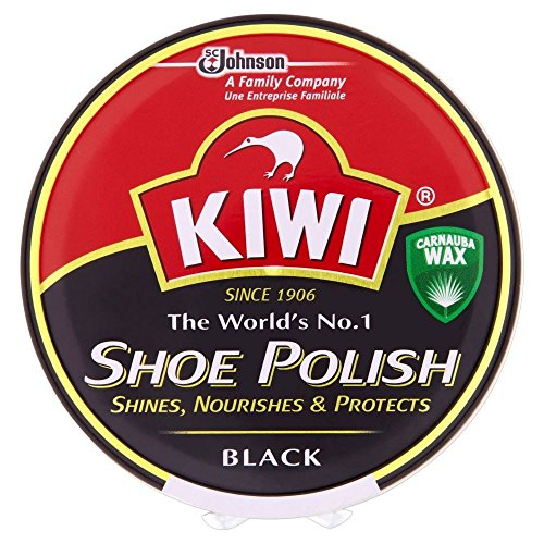 KIWI Kiwi Shoe Polish Black (100 ml) - Packung mit 6